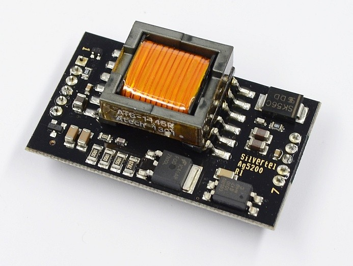 das modul ag5200 versorgt ihre ger te mit energie vom ethernet kabel sos electronic. Black Bedroom Furniture Sets. Home Design Ideas