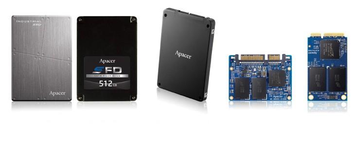 SMART-SSD und Speicherkarten von Apacer