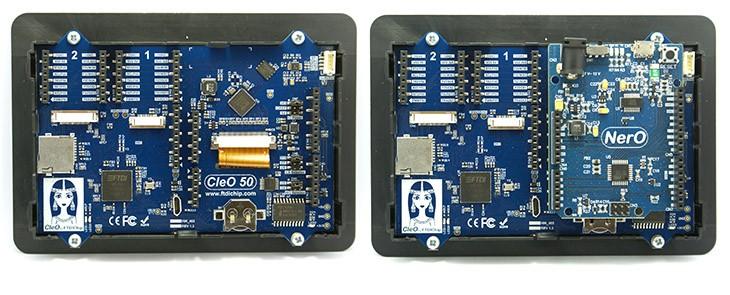 Bridgetek CleO50 – ein leistungsstärkerer Nachfolger des Moduls Cleo35