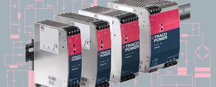 Eine robuste, zuverlässige DIN-Netzteilfamilie von TRACO POWER