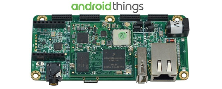 Android Things mit PICO-iMX6UL Kit erforschen